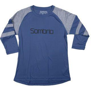 Sombrio Pedigree Jersey, blue - Radtrikot