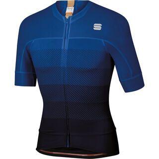 Sportful BodyFit Pro Evo Jersey, black/blue/gold - Radtrikot