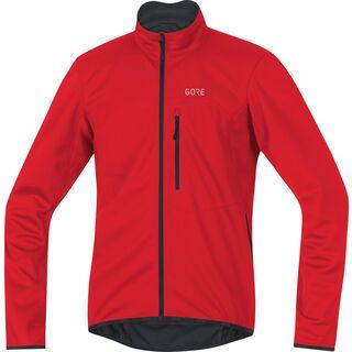 Gore Wear C3 Windstopper Soft Shell Jacke, red - Radjacke