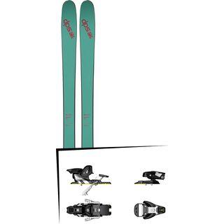 DPS Skis Set: Cassiar 95 Pure3 2016 + Salomon STH2 WTR 13