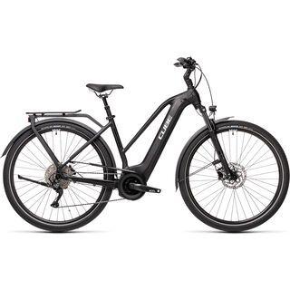 Cube Touring Hybrid Pro 625 Trapeze 2021, black´n´white - E-Bike