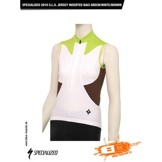 Specialized S.L.S. Jersey Inserted BACI, Green/White/Brown - Radtrikot