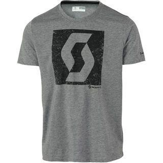 Scott Trail MTN DRI Icon s/sl Shirt, grey melange - Funktionsshirt