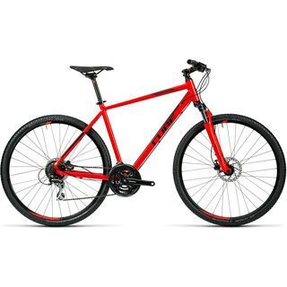 Cube Curve Pro 2016, red black - Fitnessbike