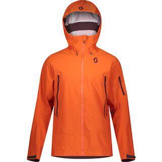 Scott Explorair DRX 3L Men's Jacket, orange pumpkin - Skijacke