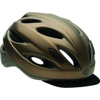 Bell Piston Soft Brim, matte met brown - Fahrradhelm