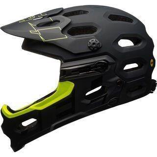 Bell Super 3R MIPS, black/retina sear - Fahrradhelm