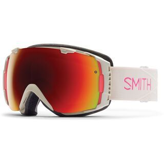 Smith I/O Womens + Spare Lens, bright sands/red sol-x mirror - Skibrille
