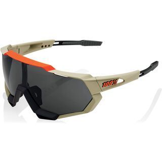 100% Speedtrap, soft tact quicksand/Lens: smoke - Sportbrille