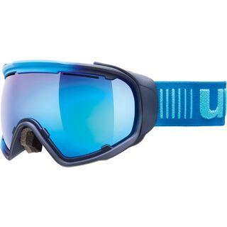 uvex Jakk sphere, ice navy mat/Lens: mirror blue - Skibrille