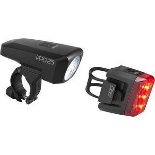 Cube Beleuchtungsset Pro 25, black´n´black