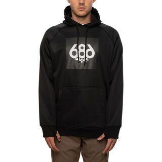 686 Men's Bonded Fleece Pullover Hoody black