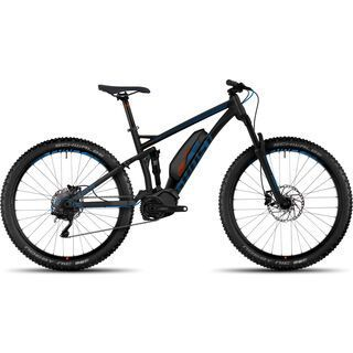 Ghost Hybride Kato FS 4 AL 2017, black/blue/orange - E-Bike