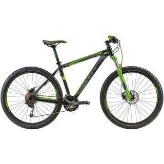 Cube Analog 27.5 2014, black/grey/green - Mountainbike