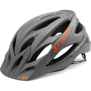 Giro Xar, matte titanium flame - Fahrradhelm