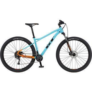 GT Avalanche Sport 27.5 2020, aqua blue/orange fade - Mountainbike