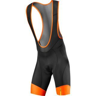 Mavic Ksyrium Pro Bib Short, black orange - Radhose
