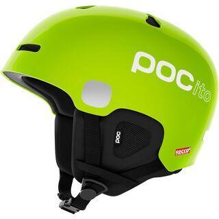 POC POCito Auric Cut SPIN, fluorescent yellow/green - Skihelm