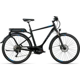 Cube Touring Hybrid EXC 400 2016, black´n´flashblue - E-Bike