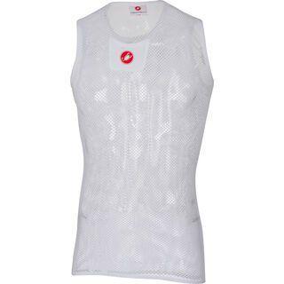Castelli Core Mesh 3 Sleeveless, white - Unterhemd