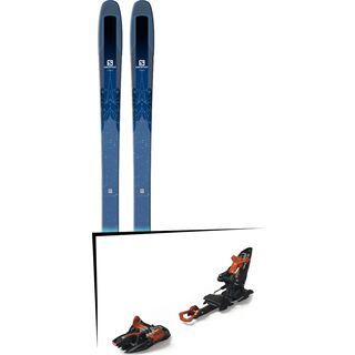 Set: Salomon QST Lux 92 2018 + Marker Kingpin 10 black/copper