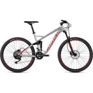 *** 2. Wahl *** Ghost Kato FS 2.7 AL 2019, silver/red/black - Mountainbike | Größe M // 46 cm