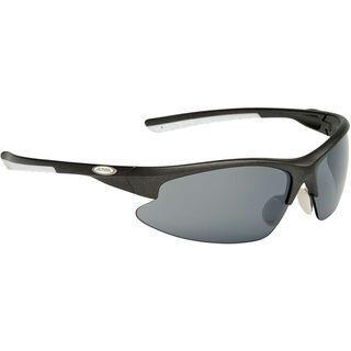 Alpina Dribs 2.0, anthracite matt white/Lens: ceramic mirror black - Sportbrille