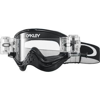 Oakley O Frame MX, jet black/Lens: clear - MX Brille