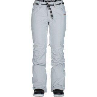 Zimtstern Zunny LIM Snow Pant, light grey - Snowboardhose