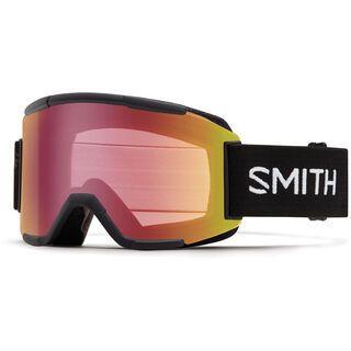 Smith Squad inkl. Wechselscheibe, black/Lens: red sensor mirror - Skibrille