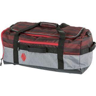 Nitro Team Duffle, red stripes - Reisetasche