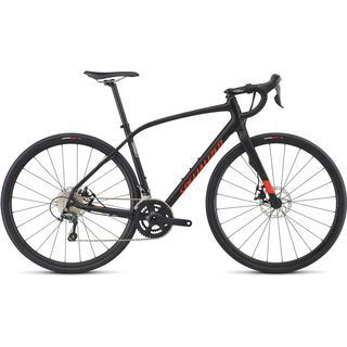 Specialized Diverge Elite DSW 2017, black/red - Gravelbike