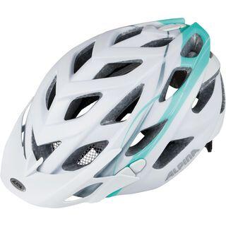 Alpina D-Alto L.E., white-smaragd - Fahrradhelm