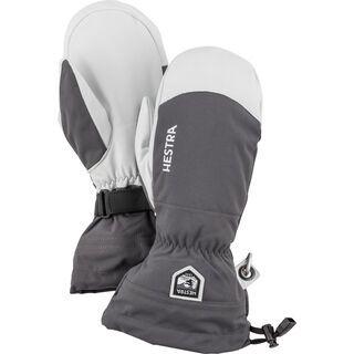 Hestra Army Leather Heli Ski Mitt grey