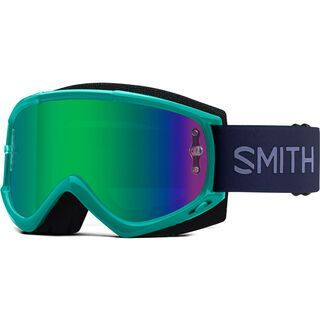 Smith Fuel V.1 inkl. WS, iris indigo/Lens: green mir - MX Brille