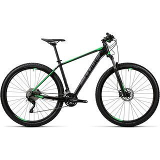 Cube Attention 27.5 2016, black´n´green - Mountainbike