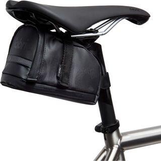Fabric Contain Saddle Bag - Large, black - Satteltasche