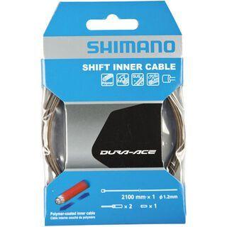 Shimano Dura-Ace - Edelstahl, polymerbeschichtet - 2.100 mm - Schaltzug