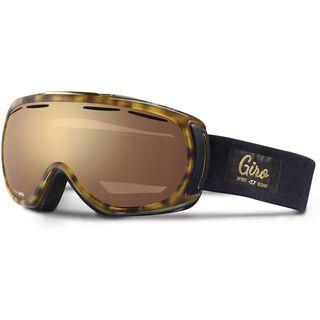 Giro Amulet, tortoise/amber gold - Skibrille