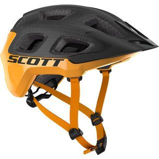 Scott Vivo Plus Helmet, dark grey/fire orange - Fahrradhelm