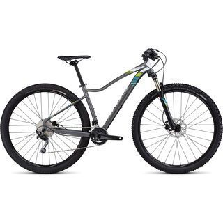 Specialized Jett Expert 29 2016, charcoal/white/turquoise - Mountainbike