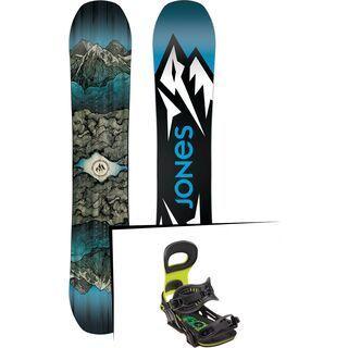 Set: Jones Mountain Twin 2019 + Bent Metal Transfer green