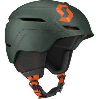 Scott Symbol 2 Plus D Helmet, sombre green/pumpkin orange - Skihelm