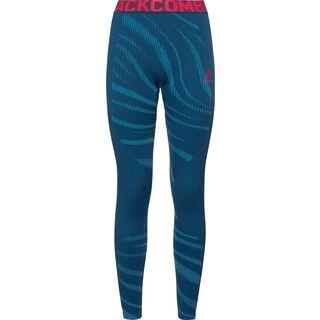 Odlo SUW Bottom Pant Performance Blackcomb, poseidon-pink - Unterhose