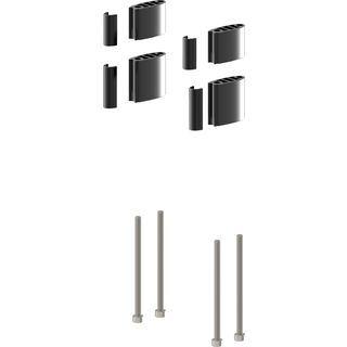 Scott Plasma 5 Aero Spacers + Covers + Bolts, black - Zubehör