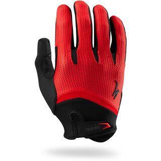 Specialized Body Geometry Gel Long Finger, red - Fahrradhandschuhe