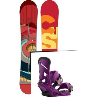 Set: Burton Custom Flying V 2016 +  Mission (1191287S)
