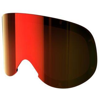 POC Lid Spare Lens, persimmon red mirror - Wechselscheibe
