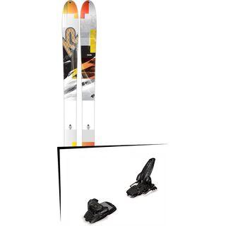 K2 SKI Set: Talkback 96 2016 + Marker Jester 16