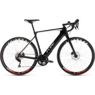 Cube Agree Hybrid C:62 Race Disc 2019, carbon´n´white - E-Bike